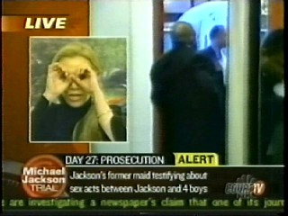Anne Bremner on Court TV – Michael Jackson Trial