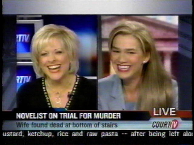 Anne Bremner onCourt TV Nancy Grace – Novelist on Trial for Murder