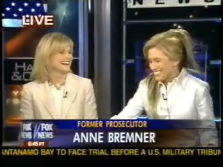 Fox News Catherine Crier – Legal analyst Anne Bremner