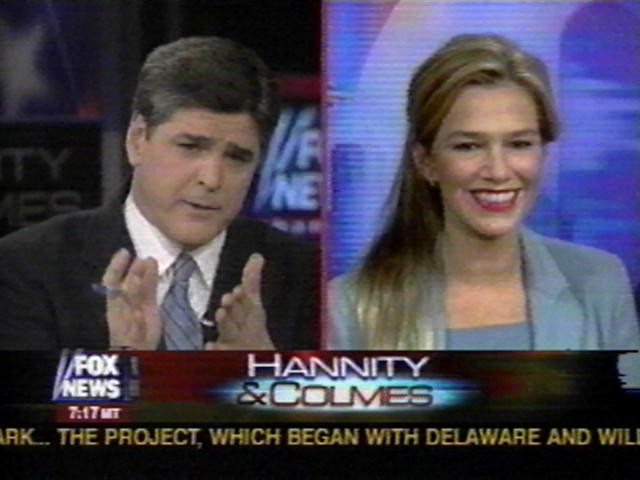 Anne Bremner on Fox News Hannity & Colmes