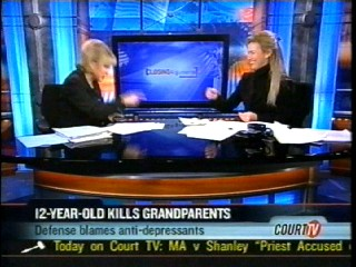 Anne Bremner on Court TV Nancy Grace – 12-Year-Old Kills Grandparents