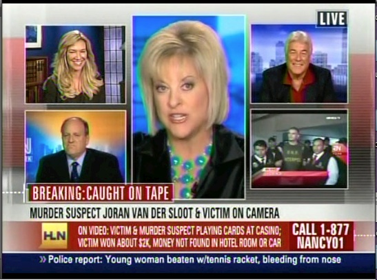 HLN Nancy Grace - Tot Mom party pictures.